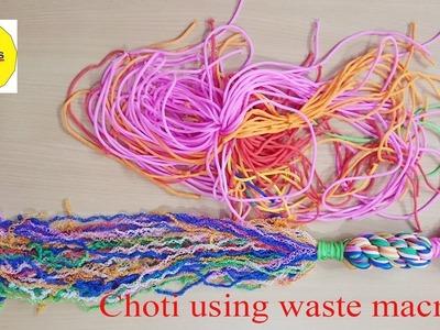 How to make macrame choti full tutorial