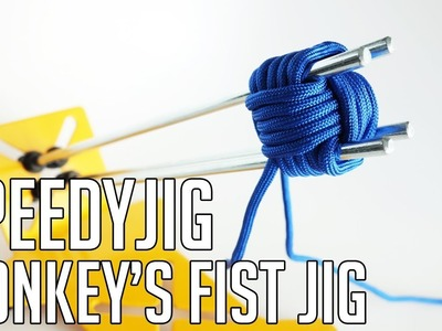 How to Use the SpeedyJig Monkey's Fist Jig Tutorial