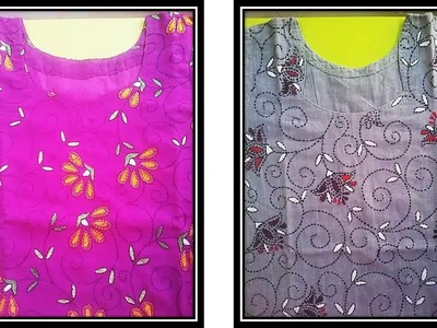 Hand Embroidery Patterns For Kurtis Gallery Knitting Embroidery