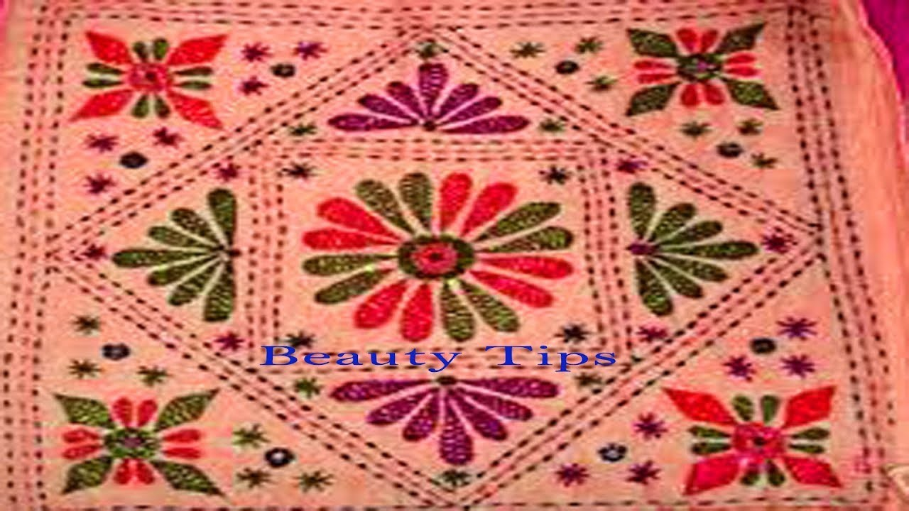 Nakshi Katha Hand Design Video Tutorial ���কশি ���াথা ���क्षी ���था