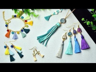 PandaHall Video Tutorial on Tassel Pendant Jewelry Sets