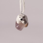 Polar Bear Necklace Animal Quartz Jewellery Accessories Handmade Wildlife Nature