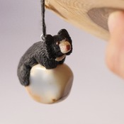 Sloth Bear Necklace Animal Agate Jewellery Accessories Handmade Wildlife Nature