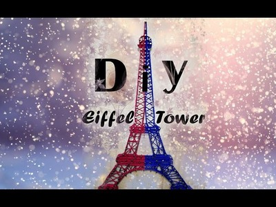String Art Eiffel Tower 2018 | DIY |