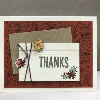 """Thanks"" W4"