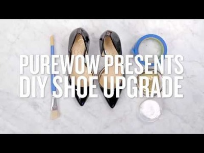 This Super Easy DIY Will Instantly Upgrade a Pair of Plain Pumps