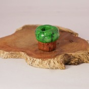 Tree Dreadlock Bead Brown Green Hair Nature Jewellery Dread Accessories Handmade