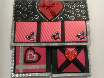 VALENTINE'S Special Scrapbook making Idea!