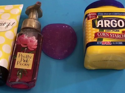 3 DIY slimes (watercolor slime,jelly cube slime, and fluffy matte putty)