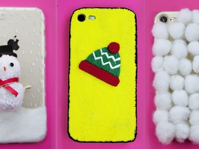 3 DIY Winter Phone Cases – How To Make Cute Phone Cases For Winter