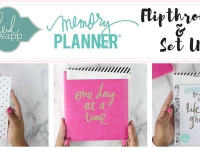 Am I Still a Happy Planner Girl?! Heidi Swapp Haul + FLIP-THROUGH | Setting Up My Memory Planner