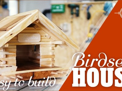 Custom made birdseed house - easy to make DIY project