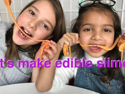 DIY Edible Slime - SLIME YOU CAN EAT - Best slime recipe. Yummy!