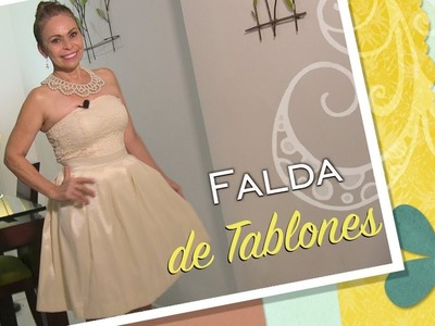 DIY Falda de Tablones   plank skirt Omaira Tv