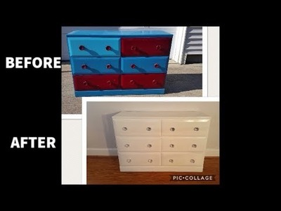 DIY: How to repaint an ugly, old dresser