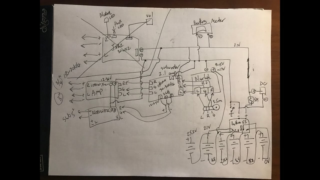 diy pelican boombox schematics and description. Black Bedroom Furniture Sets. Home Design Ideas