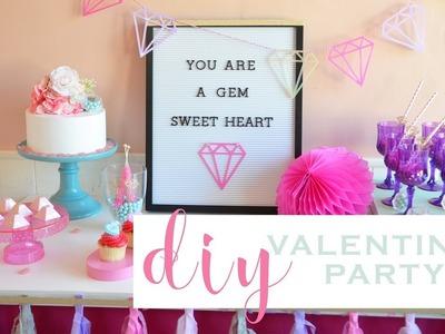 DIY Valentine's or Bachelorette.Bridal Shower Party Ideas!!