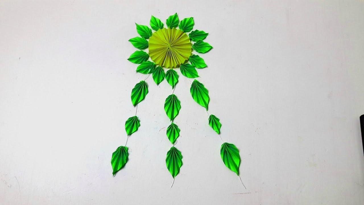Diy Wall Hanging Flower Easy Diy Home Decor Ideas Diy Christmas