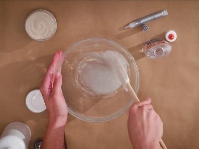 Elmer's Glue DIY, KID-FRIENDLY Sand Slime