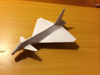 How do make the Eurofighter Typhoon Paper Airplane