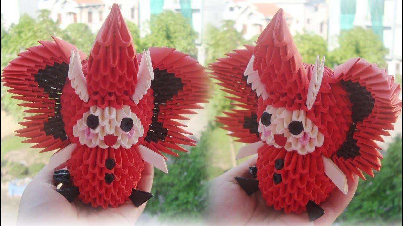 Origami HOW TO MAKE 3D ORIGAMI ELEPHANT KID Como Hacer Un Nino De 3d En Traje