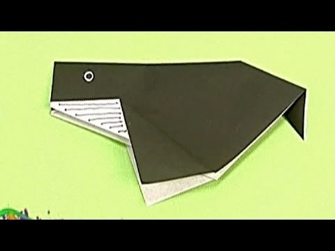 How to make a Paper Whale (Tutorial) - Paper Friends 02 | Origami for Kids