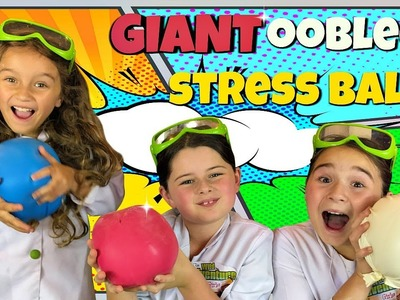 How to Make Giant Oobleck Stress Balls!