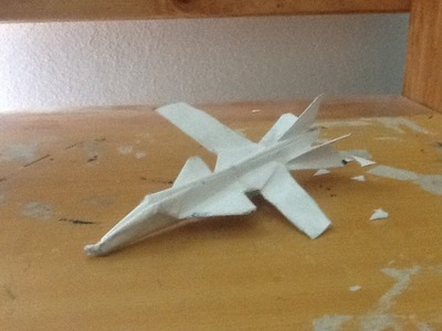 How to make the Su-47 Paper Airplane