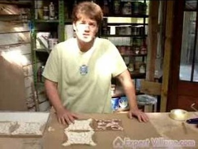 How to Make Tile Mosaics & Patterns : Adhering Mosaic Tiles for Your Tile Mosaic Project