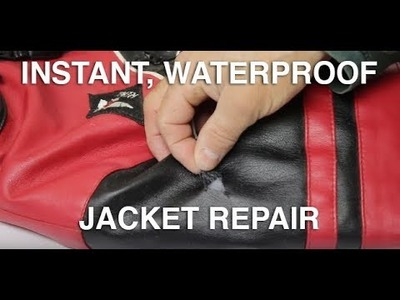 How To Repair A Ripped Jacket Instantly | Fix Coat Using TUFF Tape