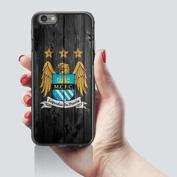 Manchester City Man FC Fotball phone case cover Fits iphone 7 & 8