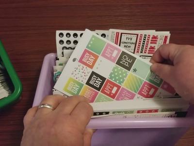 My Happy Planner Sticker Books - Organization and Storage System