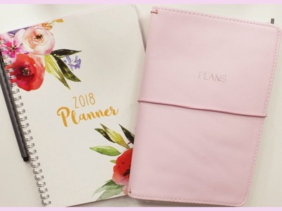 *NEW* 2018 Planner Set Up + Plan With Me!   Romina Vasquez