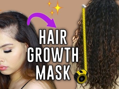 OMG, MY HAIR GREW BACK! | DIY Hair Mask for Growth, Strength and Moisture