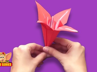 Origami - Let's make a Lily Part 2