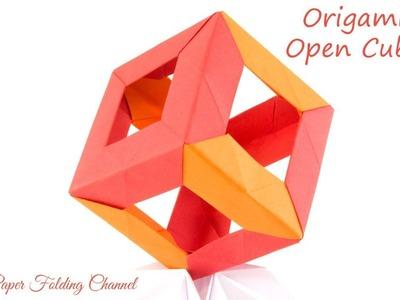 Origami Open Cube 3D