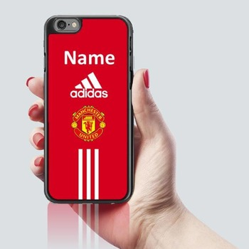 Personalised Manchester United FC Football phone case fits iphone 7 & 8