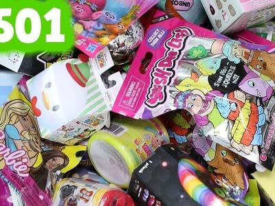 Random Blind Bag Box #501 - Transformers Mashems, MLP, Trolls, Surprizamals, Christmas Shopkins