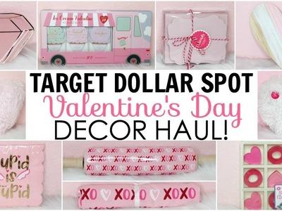 Target Dollar Spot Haul ♡ Valentine's Day Decor ♡ & 1 item from TJ Maxx ♡ Pink & Girly Decor