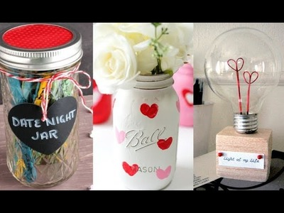 5 DIY Valentine's Day Gifts And Room Decor Ideas 2018!