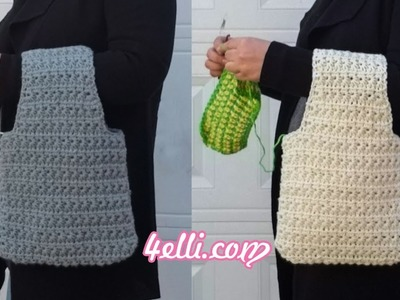 Crochet To Go Yarn Bag Tutorial (EN)