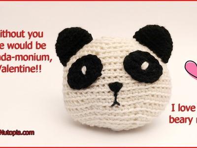 Crochet Tutorial: Panda Plush Amigurumi