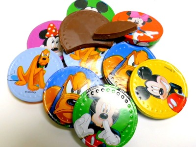 Disney Mickey Mouse and Friends Milk Chocolate Coins in a Net