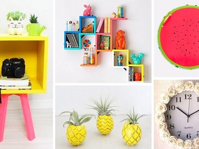 DIY ROOM DECOR! Easy Crafts Ideas at Home⚠️????♥ - 15-MINUTE CRAFTS COMPILATION For 2018