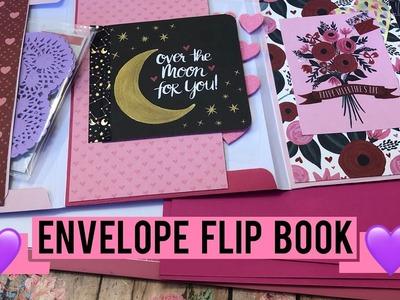 Envelope Flip Book Tutorial | Valentine's Theme