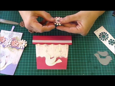 Flowerpot Card Tutorial from Alice in Paperland using Fab Scraps Papers
