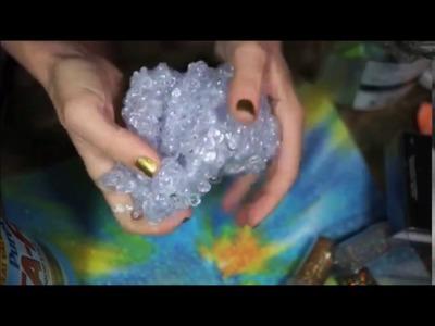 Grav3yardgirl ASMR Fishbowl Slime 30 Minute Loop