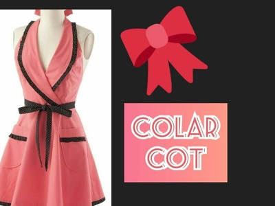 How to cut coat collar frock in just few minutes