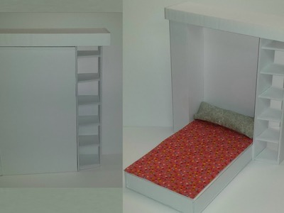 How to make a Doll Murphy Bed