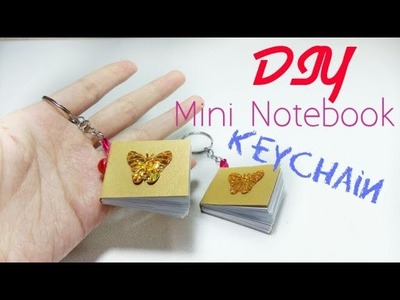 How To Make Mini Notebook Keychain